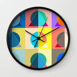 Andy and the Deathly War-hallows Wall Clock