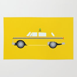 New York Yellow Taxi Rug