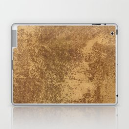 Abstract gold paper Laptop & iPad Skin