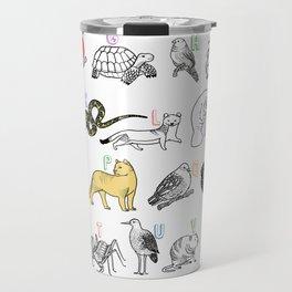 A to Z Animals of Florida Travel Mug