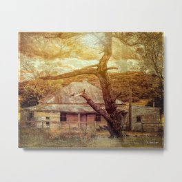 Home Among The Gums Metal Print