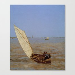 Thomas Eakins - Starting Out After Rail Canvas Print
