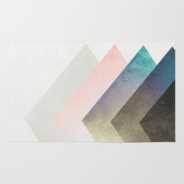 Geometric Layers Rug