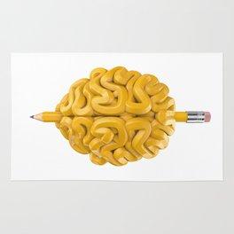 Pencil Brain Rug