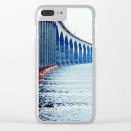 Confederation Bridge New-Brunswick Clear iPhone Case