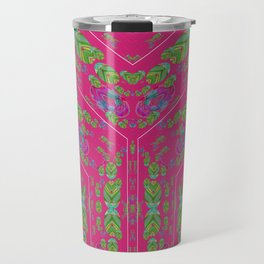 Infinities of Love in Abstract Pink Travel Mug