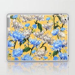 Mums Pattern     Yellow-Blue-Cream-White Laptop & iPad Skin