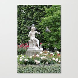 Paris Hidden Garden Canvas Print