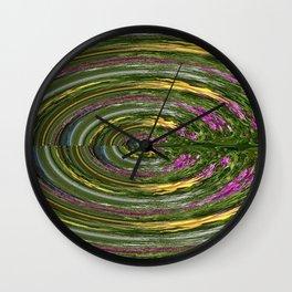 Spinning Wall Clock