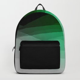 Green Gray Ombre Backpack