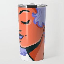 orange gurl Travel Mug