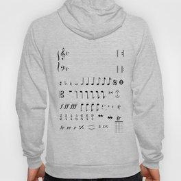 Musical Notation Hoody