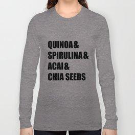 SUPERFOODS Long Sleeve T-shirt