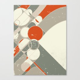 Moderne Interierur Canvas Print