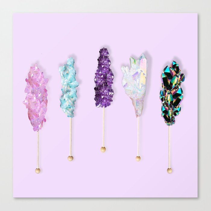 Mineral Rock Candy Canvas Print
