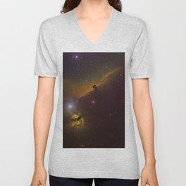Horsehead Nebula Unisex V-Neck