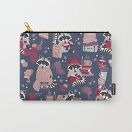 Hygge raccoon Carry-All Pouch