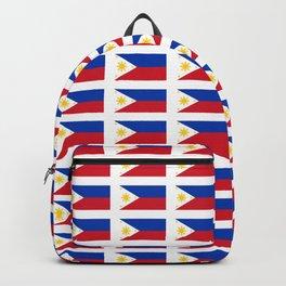 Flag of Philippines -Pilipinas,Filipinas,filipino,pinoy,pinay,Manila,Quezon Backpack