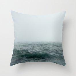 Choppy Seas Throw Pillow