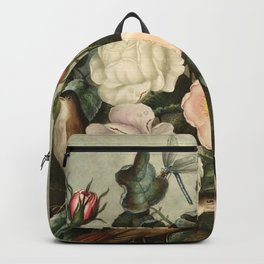 Pink  Red Floral : New Illustration Of The Sexual System Backpack