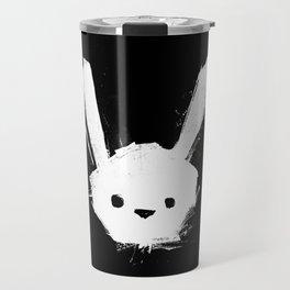 minima - splatter rabbit  Travel Mug