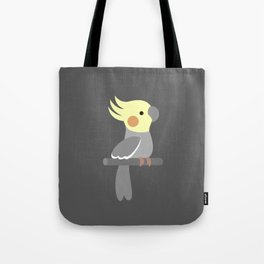 Cute cockatiel Tote Bag