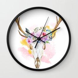 Animal Skull 02 Wall Clock