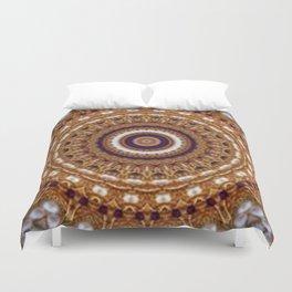 Mandala Pearls Art Duvet Cover