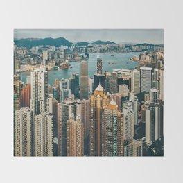 Golden Harbour Throw Blanket