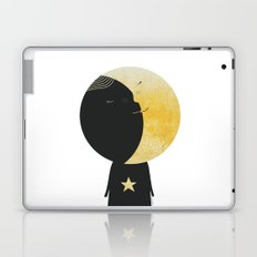 The day I kissed the Moon Laptop & iPad Skin