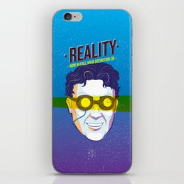 Reality (Now in Full HD 3D) iPhone Skin