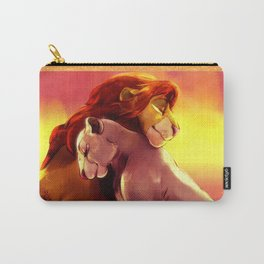 Simba and Nala Carry-All Pouch