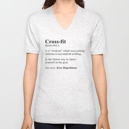 Definition of Crossfit Unisex V-Neck