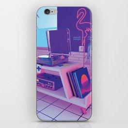spinningwave iPhone Skin