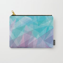 Stained Glass - Blue Purple Carry-All Pouch