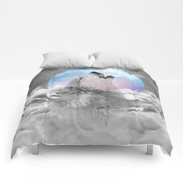 Maybe the Wolf Is In Love with the Moon Comforters