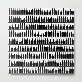 Bar Code Metal Print