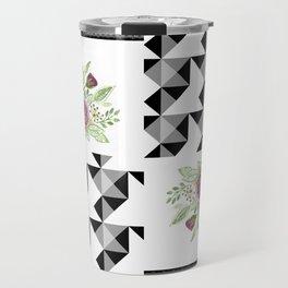 Rustic patchwork 5 Travel Mug