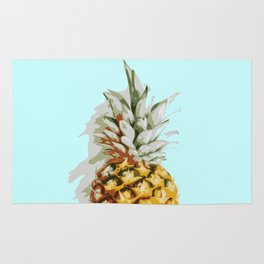 Summer Pineapple Rug