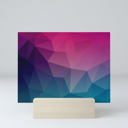 Geometric Flow Mini Art Print