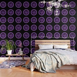 Sebastian Michaelis Sigil Light (black bg) Wallpaper