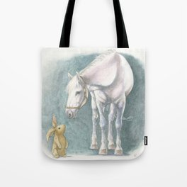Velveteen Rabbit Tote Bag