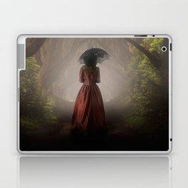 Satin red dress Laptop & iPad Skin