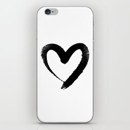 Ink Heart Minimal Fashion Stylish iPhone Skin