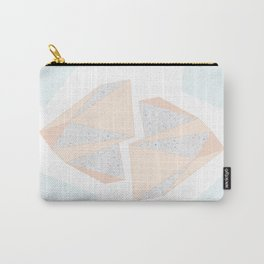 Abstract Iceberg Inspired with Terrazzo Patterns Carry-All Pouch