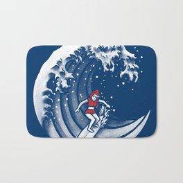 Little Red Surfing Hood Bath Mat