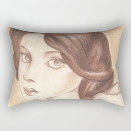 Bonjour, Elizabeth Rectangular Pillow