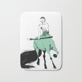 Centaure pas super contente Bath Mat