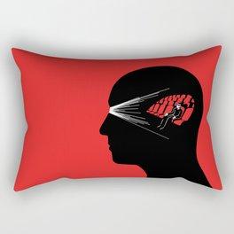One Man Movie Theatre Rectangular Pillow