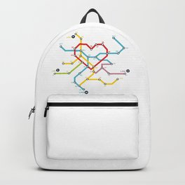 Home Where The Heart Is Backpack